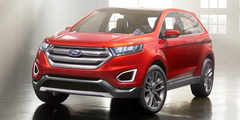 Ford Edge: SUV concept previews Territory successor
