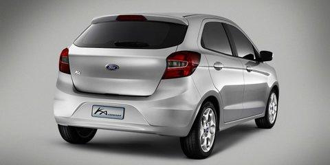 Ford Ka concept previews new global city car