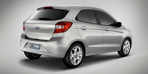 Ford Ka concept previews new global city car