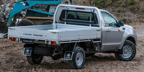 Foton Tunland single-cab launches from $24,990 driveaway