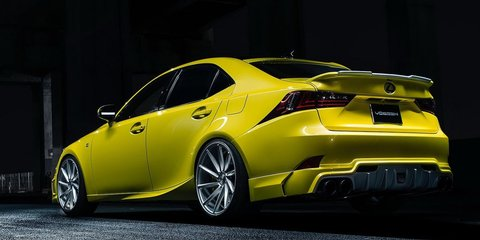 Lexus IS concepts headed to 2013 SEMA show