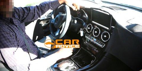 Mercedes-Benz GLK interior spied
