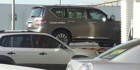 Nissan Patrol: facelift leaked ahead of Dubai debut