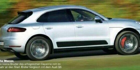 Porsche Macan revealed in leaked magazine images
