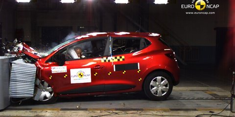 Renault Clio: five stars from ANCAP for four-airbag city car