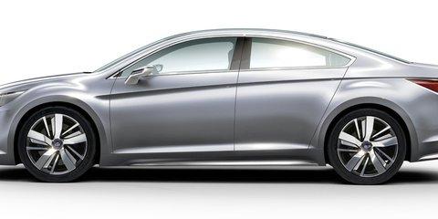Subaru Legacy concept previews next-gen Liberty