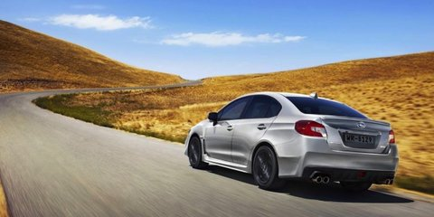 Subaru WRX: online pre-order for first 100 Australian cars from 12pm