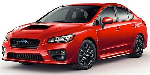 Subaru WRX revealed in leaked images