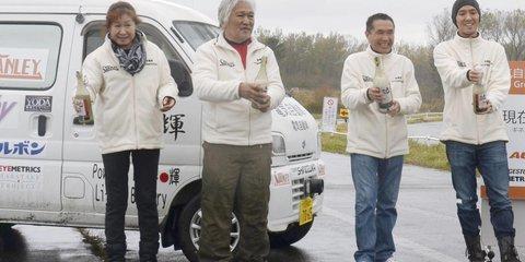 Suzuki EV breaks single-charge record with 1300km, 43-hour run