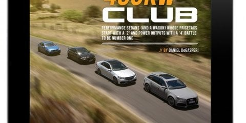 Premium hatchback comparison headlines CarAdvice Magazine December/January