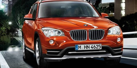 2014 BMW X1 receives styling, connectivity revisions