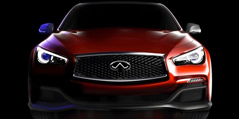 Infiniti Q50 'Eau Rouge': F1-inspired concept teased