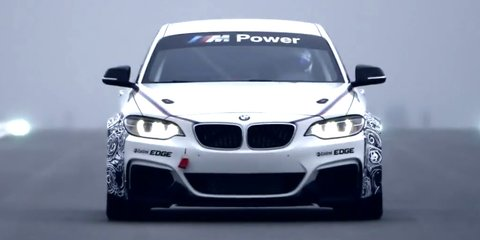 BMW M235i Racing: track-ready coupe hits tarmac for first time