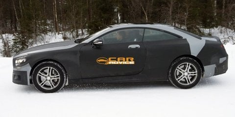 Mercedes-Benz S-Class Coupe spied in lightest camouflage yet