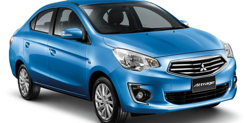 Mitsubishi Mirage sedan to lose Attrage name