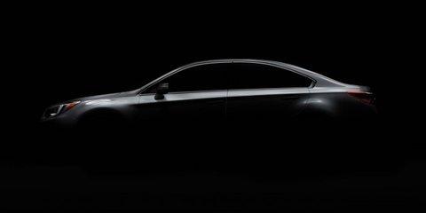 2015 Subaru Liberty teased