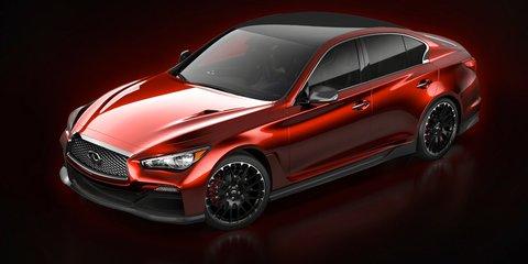 Infiniti Q50 Eau Rouge: carbonfibre-clad concept shown ahead of Detroit