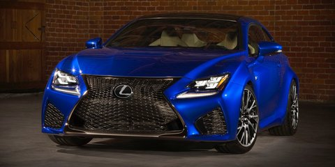 Lexus RC350 and RC F Coupes confirmed for Australia by early 2015
