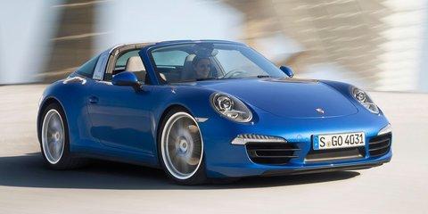 Porsche 911 Targa : 1965-style roof returns