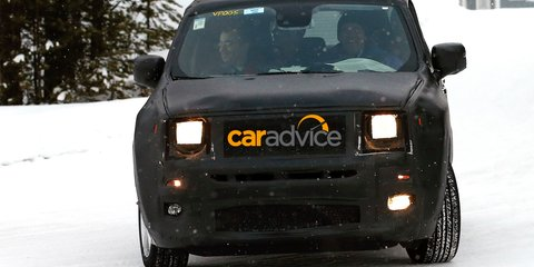Baby Jeep : first look at boxy sub-compact SUV