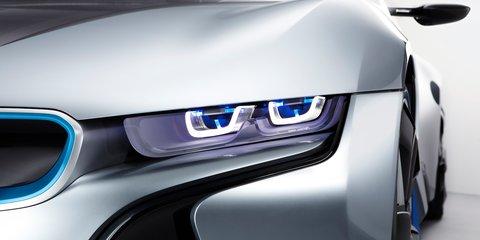 BMW i8 laser headlights still awaiting approval for Australia