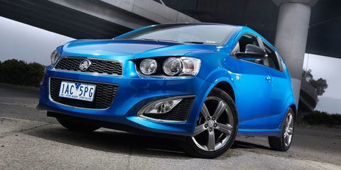 2017 Holden Barina RS spied testing in Chevrolet form