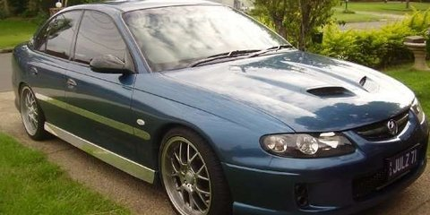 2002 Holden Commodore Executive