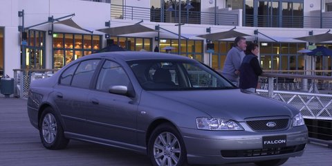 2002 FORD FALCON FUTURA Review
