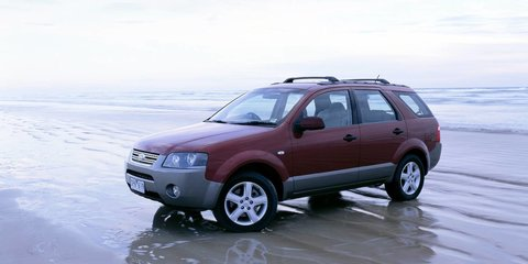 2004 FORD TERRITORY TX (RWD) Review