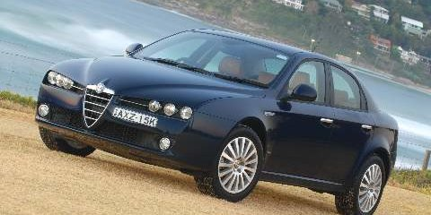 2007 ALFA ROMEO 159 Review