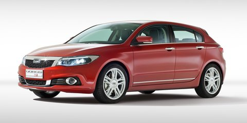 Qoros 3 hatch: China's Golf rival revealed