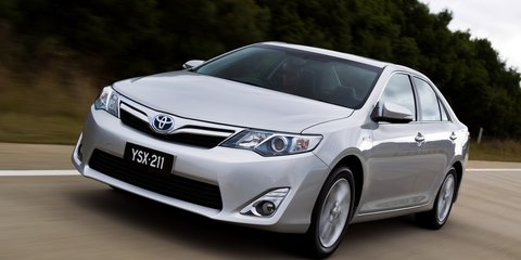 Medium car sales 2013: Toyota Camry keeps gold, Mazda 6 takes silver from C-Class