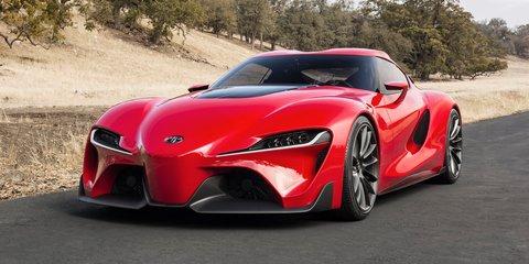 Toyota FT-1 concept previews Supra successor