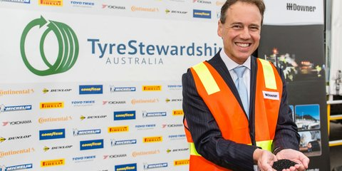Tyre recycling scheme to find uses for old tyres, create new jobs