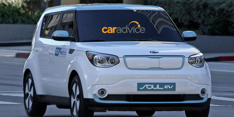 Kia Soul EV unveiled before official launch