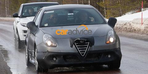 Alfa Romeo Giulietta QV : Quadrofoglio Verde spy photos