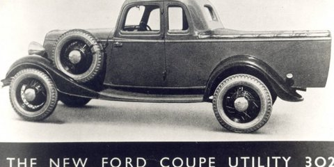 Ford celebrates 80th anniversary of the ute