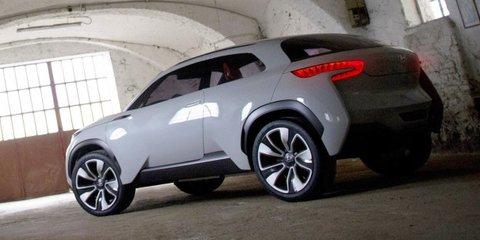 Hyundai Intrado : Hydrogen-fuelled crossover concept leaked