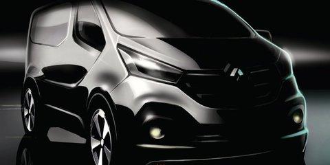 2015 Renault Trafic van teased