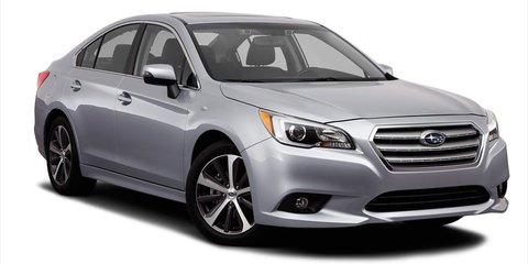 2015 Subaru Liberty : Aiming to take advantage of large car sales decline