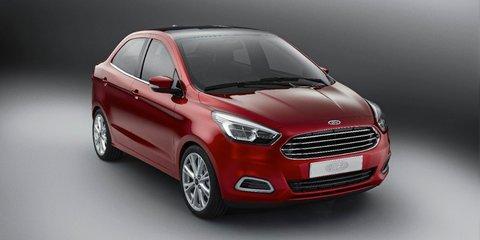 Ford Figo concept : no Ford Australia involvement in new compact sedan