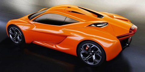 Hyundai PassoCorto : Students design mid-engined sports car concept