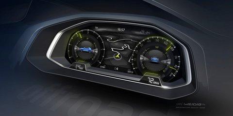 Volkswagen T-Roc crossover concept teased