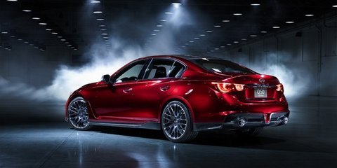 Infiniti Q50 Eau Rouge powered by Nissan GT-R engine