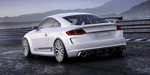 Audi TT sport quattro : 309kW 2.0-litre turbo concept aims to dethrone A45 AMG