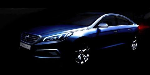 2014 Hyundai Sonata : first look at new-gen medium sedan