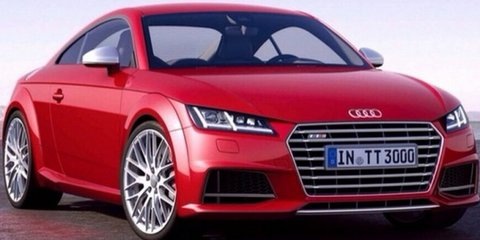 2014 Audi TT : Leaked pictures show new coupe in full