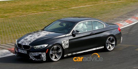 BMW M4 Convertible spied at the Nurburgring