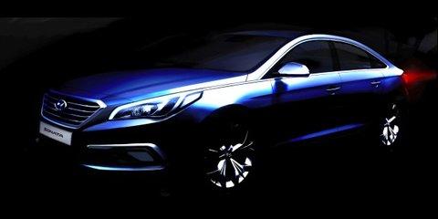 Hyundai Sonata interior revealed in new sketch