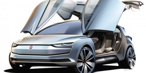Italdesign Giugiaro Clipper : all-electric four-wheel-drive Golf-inspired MPV premieres